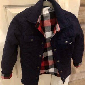 NWT Reversible Shirt/Jacket Boys Large (10/12)
